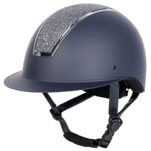 Cap Harry's Horse Royal Sparkle navy zijaanzicht