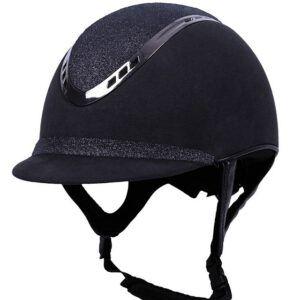 QHP cap Glitz zwart voorzijde