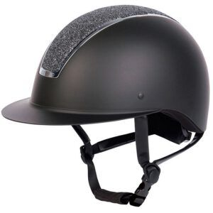 Cap Harry's Horse Royal Sparkle zwart zijaanzicht