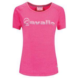 T-shirt Cavallo Pandur Pinky Pink voorzijde