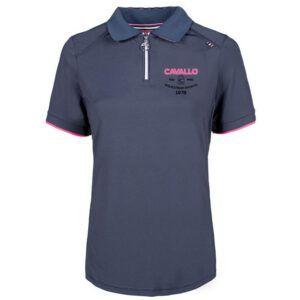 Poloshirt Cavallo Pressy blauw voorzijde