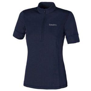 Eskadron shirt Zip navy voorzijde