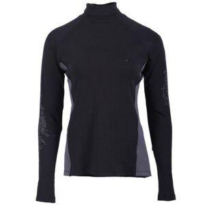 Shirt QHP Anniek zwart voorzijde