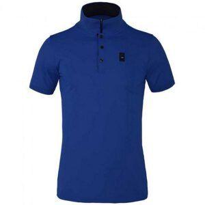 Poloshirt Kingsland Klaesop blue lalique voorzijde
