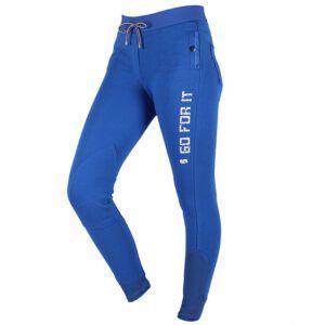 QHP legging Evi Junior palace blue vooraanzicht