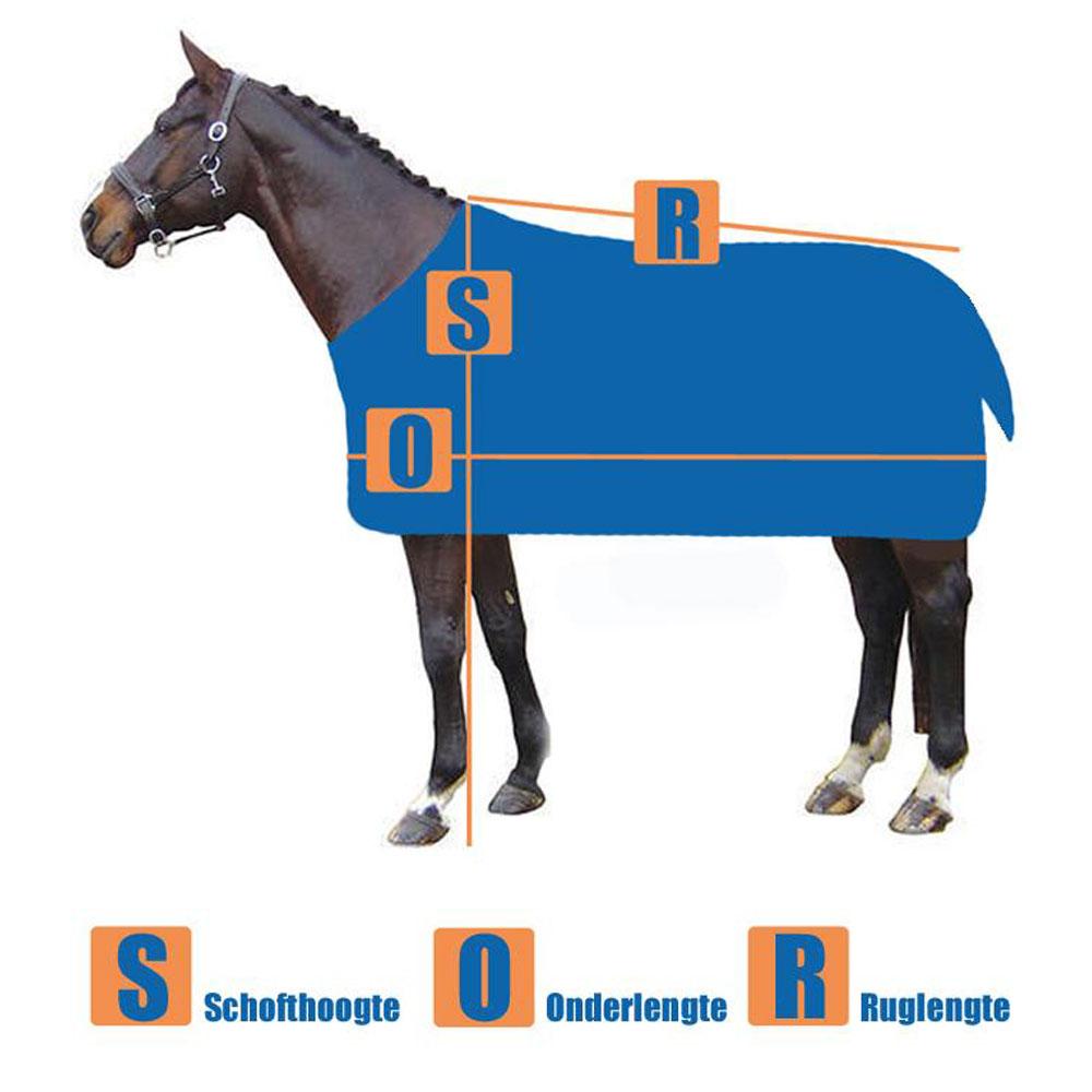 Paardendeken opmeten