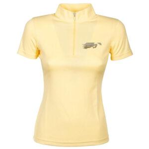 Shirt Harry's Horse Just Ride Yellow voorzijde