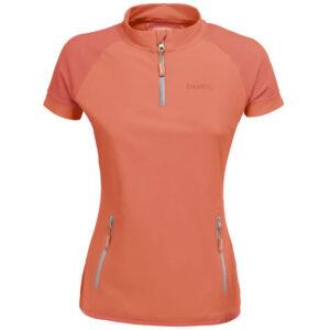 Eskadron t-shirt Reflexx oranje met rits voorzijde