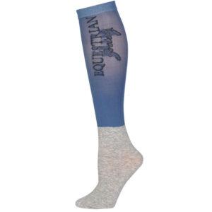 Harry's Horse show socks aegean-blue
