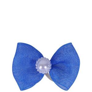 Manenstrikjes QHP Pearl kobaltblauw